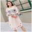 Lady Ribbon Pink Cotton ZARA Dress ขายเดรสผ้าคอตตอน thumbnail 2