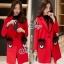 Sevy Look At Me Fendi Wool Coat thumbnail 2