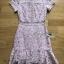 Lady Ribbon Mini Dress มินิเดรสผ้าลูกไม้ thumbnail 9