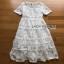 Princess Lady Ribbon White Lace Maxi Dress เดรสยาว thumbnail 6