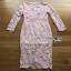 Lady Ribbon Pale Pink Midi Dress thumbnail 6