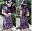 Lady Ribbon ขายส่งเสื้อผ้าออนไลน์พร้อมส่งของแท้ LR02220716 &#x1F380 Lady Ribbon's Made &#x1F380 Self-Portrait Louisa Guipure Lace Dress thumbnail 1