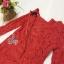 เดรสลูกไม้โทนสีแดง สดใส ต้อนรับตรุษจีนนี้ thumbnail 5