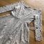 Lady Ribbon Vanessa Classic Feminine Pale Grey Lace Dress thumbnail 6