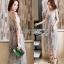 Lady Ribbon Midi Dress thumbnail 1