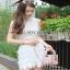 Lady Ribbon Mini Skirt Set เซ็ตเสื้อแขนกุด thumbnail 1