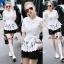 Lady Ribbon Online เสื้อผ้าออนไลน์ขายส่ง Normal Ally เสื้อผ้า NA16150816 &#x1F389Normal Ally Present elegant premium shirt and boutique pant&#x1F389 (เสื้อ + กางเกง+ เชือกคาดเอว, มีซับในอย่างดีทั้งชุด) thumbnail 1