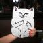 เคสซิลิโคน แมวดำ แมวขาว (เคส iPad Air 2) thumbnail 5