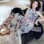 Lady Ribbon Maxi Dress ขายเดรสยาว thumbnail 1