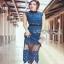 Lady Ribbon ขายส่ง Midi Dress thumbnail 3