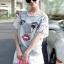 SS16010916 Seoul Secret Say's... Chic Denim Chill Dresss Material : เนื้อผ้ายีนเดนิมผสมคอตตอน thumbnail 4