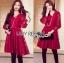Lady Ribbon Online เสื้อผ้าออนไลน์ ขายส่งของแท้ราคาถููก LR08110716 &#x1F380 Lady Ribbon's Made &#x1F380 Lady Blaire Classic Feminine Lace Cocktail Dress thumbnail 3