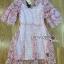 Lady Ribbon ขายส่งเสื้อผ้าออนไลน์พร้อมส่งของแท้ LR20220716 &#x1F380 Lady Ribbon's Made &#x1F380 Lady Anna Sweet Feminine Floral Pink Lace Dress เ thumbnail 6