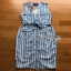 Lady Striped Sleeveless Dress with Ribbon เดรสผ้าเครป thumbnail 11