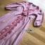 Lady Ribbon ขายเดรส Pink Denim Dress thumbnail 6