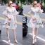 Lady Ribbon Online เสื้อผ้าออนไลน์ขายส่ง Normal Ally เสื้อผ้า NA13150816 &#x1F389Normal Ally Present flower print summer dress&#x1F389 thumbnail 1