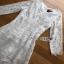 Lady Ribbon Vanessa Classic Feminine White Lace Midi Dress thumbnail 5