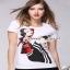 Seoul Secret Olivia's Print T-Shirt เสื้อยืดใส่สบายๆ รับซัมเมอร์ เก๋ๆ น่ารักๆ thumbnail 3