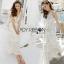 Lady Ribbon Crochet Maxi Dress thumbnail 1