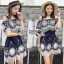 Lady Ribbon Katy Bohemian Mini Dress มินิเดรสเปิดไหล่ thumbnail 1