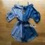 Lady Ribbon 2-Tone Denim Top เสื้อเดนิม thumbnail 7