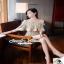 เสื้อผ้างานเดรสเกาหลีหวานหรูด้วยแฟชั่นเนื้อผ้าลูกไม้ thumbnail 2