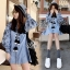 SV01310816 &#x1F389Sevy Embroidered Bohemian Cute Dolly Sleeve Tassel Rop Mini Dress Type: Mini Dress thumbnail 3