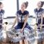 SS15010916 Seoul Secret Say's... Fashionista Navaly Blossom Set Material : เซ็ทเก๋ๆ สไตล์สาวแฟชั่นเก๋ๆ หวานๆ thumbnail 1