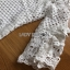 Lady Ribbon Lauren Floral White Lace Dress thumbnail 5