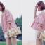 เสื้อแฟชั่นเกาหลีลายสก็อตมี 2 สี thumbnail 9