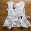 Lady Ribbon Online ขายส่งเสื้อผ้าออนไลน์ ขายส่งของแท้พร้อมส่ง Lady Ribbon LR03250716 &#x1F380 Lady Ribbon's Made &#x1F380 Lady Nicole Classy Flared Sleeveless Lace Top thumbnail 6