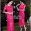 สีชมพูบานเย็นชุดเดรสเกาหลี thumbnail 2