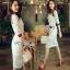 Lady Ribbon Lady Paula Gucci Style White Lace Dress thumbnail 3