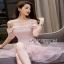 Lady Ribbon Melissa Ruffle Pink Dress thumbnail 1