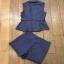 เสื้อกั๊กกางเกงขาสั้น กรม-น้ำเงิน thumbnail 6