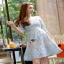 Lady Ribbon Rena Flower Blooming Pastel Lace Mini Dress thumbnail 3