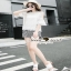เสื้อผ้าแฟชั่นเกาหลีเซ็ทหวานๆ แบบสาวชิลล์ เสื้อเนื้อผ้าสวย thumbnail 5
