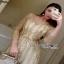 Golden Maxi Dress Lady Ribbon เดรสผ้าทูลเล thumbnail 3