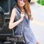 Lady Ribbon Online เสื้อผ้าออนไลน์ขายส่ง Normal Ally เสื้อผ้า NA07150816 &#x1F389Normal Ally Present elegance Chanel Summer set&#x1F389 (เสื้อ + กางเกง,มีซับใน) thumbnail 5