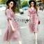 Lady Ribbon ขายเดรส Pink Denim Dress thumbnail 3