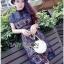 Lady Ribbon ขายส่งเสื้อผ้าออนไลน์พร้อมส่งของแท้ LR02220716 &#x1F380 Lady Ribbon's Made &#x1F380 Self-Portrait Louisa Guipure Lace Dress thumbnail 3