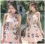 Lady Ribbon Strappy Mini Dress มินิเดรสสายเดี่ยว thumbnail 3