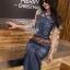 Lady Ribbon Online เสื้อผ้าแฟชั่นออนไลน์ขายส่ง เลดี้ริบบอนของแท้พร้อมส่ง sevy เสื้อผ้า SV15240716 BEST SELLER-Restock &#x1F389Sevy Printed Artist Back Sleeveless Midi Dress thumbnail 3