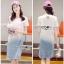 Lady Ribbon Tamara Street Chic Denim Dress thumbnail 1
