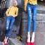 กางเกงยีนส์แฟชั่นแต่งรอยขาด แบรนด์เกาหลี Daisy thumbnail 5