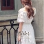 Sweet White Vintage Adorable Dress thumbnail 6