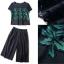 Lady Ribbon Online เสื้อผ้าออนไลน์ขายส่ง Normal Ally เสื้อผ้า NA08150816 &#x1F389Normal Ally Present embroider flower shirt and lace pant set&#x1F389 (เสื้อแต่งลูกไม้ทอปัก+ กางเกงลูกไม้มีซับใน) thumbnail 6