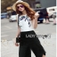 Cropped Top and Culottes Lady Ribbon เสื้อคร็อปแขนกุด thumbnail 2