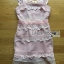 LR04290816 &#x1F380 Lady Ribbon's Made &#x1F380 Self-Portrait Petunia Panelled Midi Dress เดรสผ้าลูกไม้ thumbnail 5