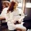 Floral White Lace Dress เรียบหรูสวยหวานด้วยเดรสทรงแขนบาน thumbnail 4
